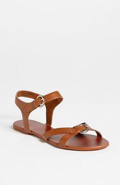 Topshop 'Horsham-Geeky' Sandal available at shoes shoes fashion shoes Sock Shoes, Cute Shoes, Me Too Shoes, Shoe Boots, Shoes Sandals, Shoe Bag, Brown Sandals, Keds, Fashion Shoes