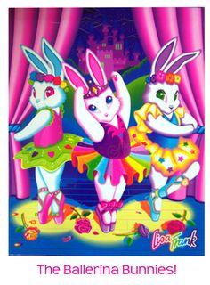 Ballerina Bunnies...Debuted in 1992