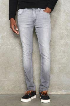 Levi`s Monochrome Grey Sky 510 Jeans
