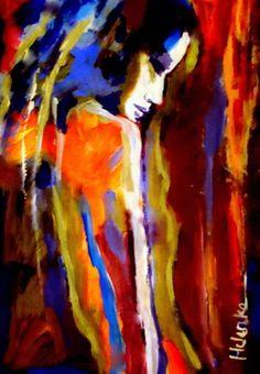 """Saatchi Online Artist Helena Wierzbicki; Painting, """"""""Animus"""""""" #art"""