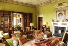 Sitting Room / Library?... Somerley House