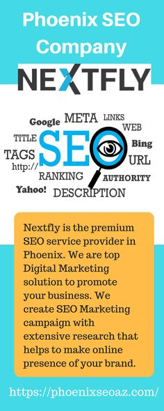 Looking for SEO services in Phoenix? NEXTFLY is the most prominent phoenix SEO Company which offers the best Digital marketing services to improve your online presence and get more leads. Visit to know more!