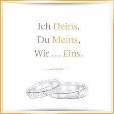 Ich + Du = Wir  #Liebe #Zitate #Sprüche