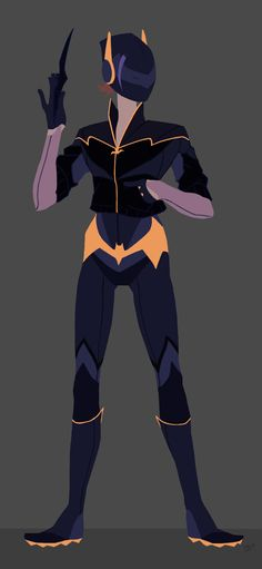 Batgirl Redesign by Kelly Smith