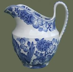 Spode Old Peacock Pattern Small Ewer
