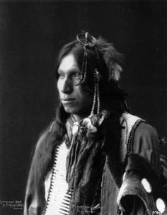 An old photograph of the Native American known as Peter Iron Shell - Sioux Native American Images, Native American Beauty, Native American Tribes, Native American History, American Art, Portraits, Native Indian, Before Us, Belle Photo