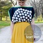 DIY: How to Make a Silk Scarf Shirt