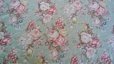 RALPH LAUREN Charlotte King Duvet Cover Sage Green Floral Shabby Country Chic…