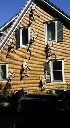 Skeletons on the house