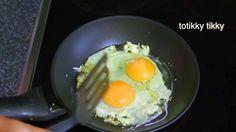 Thai Scrambled Eggs : Thai Food Part 43 : How to Make Thai Food at Home