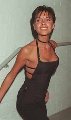 Victoria Beckham à Londres en 1999