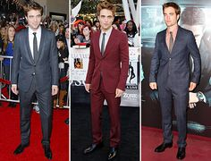That man can rock a suit. Robert Pattinson in Gucci.