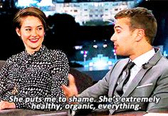 9 Reasons Why We Pledge Allegiance To Theo James And Shailene Woodley BAHHHH I JUST DIED THIS IS AMAZING!!!