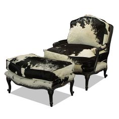 Bergere Chair 2100 Old Hickory Tannery | Old Hickory Tannery