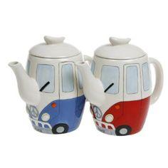 Camper Van Teapot: Amazon.co.uk: Kitchen & Home