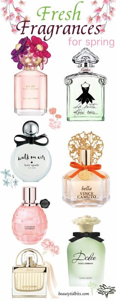 Spruce up your spring fragrance game with these sparkling fresh floral picks!