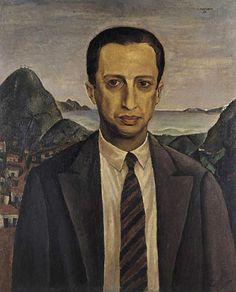 Retrato de Manuel Bandeira, 1931 - Cândido Portinari