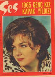 ses dergisi 1965 genç kız kapak yıldızı.