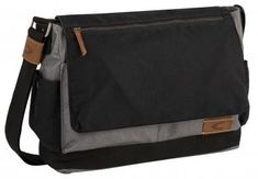 Laptoptasche Nylon camel active grau schwarz Überschlag - Bags & more Bangkok, Nylons, Messenger Bag, Camel, Diaper Bag, Satchel, Backpacks, Bags, Fashion