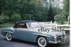 35mm Slide 1960 Mercedes Benz 190 SL Soft Top | Collectibles, Photographic Images, Contemporary (1940-Now) | eBay!