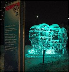 Display Truss by VersaTruss Plus VersaTruss works with Winterlude Canada for a spectacular celebration #displaytruss