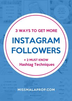 Struggling to make Instagram work for your biz? Here are 3 ways to get more Instagram followers and sales, PLUS 2 must-know hashtag techniques.