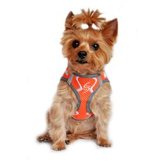 "American River ""Sport Neon"" Iridescent Orange Ultra Choke Free Step-in Harness Vest"