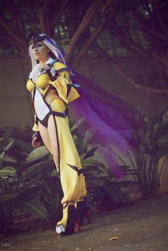 Raikou (Pokemon) #cosplay by AlanaWaffles | Comikaze 2015