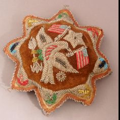 Beaded whimsy pincushion