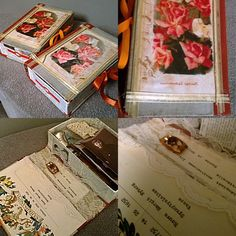 Mummin vuodenajat: altered book