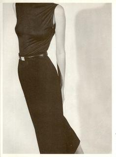 supermodelobsession: Calvin Klein Spring/Summer 1986Photographer: Bruce WeberModel: Josie Borain