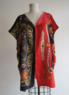 restyle silk scarf   Silk scarf top. ALL SILK SCARF TOPS ON SALE! Available online and in ...