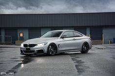 BMW 435xi Showcasing PUR Wheels - http://www.bmwblog.com/2015/02/06/bmw-435xi-showcasing-pur-wheels/