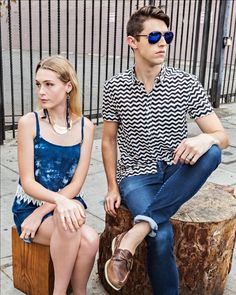 Casually waiting in our @HiStreetUSA original pieces