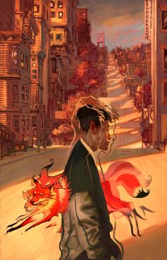 Ooh, this is great stuff too; I really like use of similar hues that tie each piece together, and again the expressive nature of the figures - Fantasy by Jon Foster, via Behance