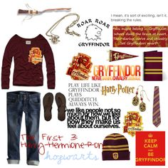 Designer Clothes, Shoes & Bags for Women Harry Potter Dress Up, Harry Potter Outfits, Harry Potter Memes, Inspired Outfits, Percy Jackson, Hogwarts, School Ideas, Houses, Style Inspiration