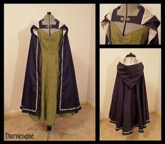 Quicksilver Guard Cloak by Durnesque.deviantart.com on @deviantART