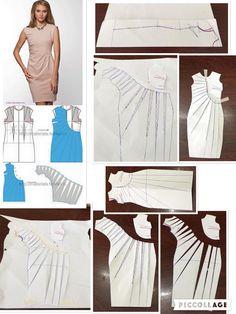 طراحی الگوی لباس مجلسی