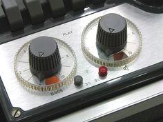 Revox tape recorder detail