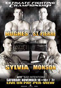 UFC 65: Bad Intentions.