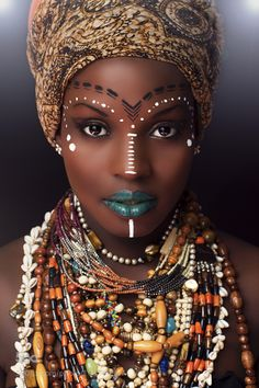 Black Panther Movie Wakanda Ethnic Africa Makeup Inspo –