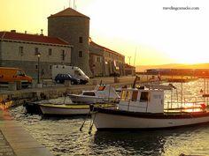 Fishing Boats at Sunset - Senj, Croatia by camwears, via Flickr Senj Croatia, Fishing Boats, Inspire, Spaces, Sunset, Sunsets, The Sunset