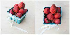 DIY Classic Berry Carton Wedding Decor Ideas