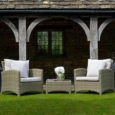 Bramblecrest Cotswold 2 Seat Lounge Sofa Set