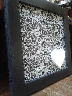 Quadros decorados! #inspiraratelie #scrapdecor #love
