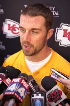 Chiefs like what they've seen so far from QB Alex Smith...Anything is better than what they had at QB last year!