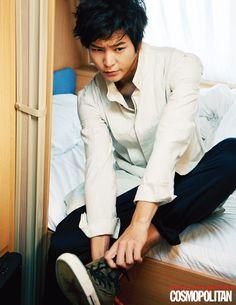 Joo Won Cosmopolitan Korea Magazine November 2012 Issue
