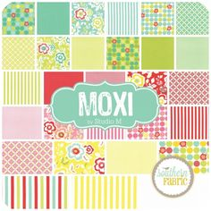 """Moxi - Charm Pack (5"""") (32960PP) by Studio M for Moda 