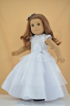American girl doll fancy clothes 2 on pinterest for American girl wedding dress