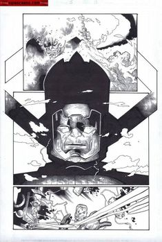 Galactus interior art by Olivier Coipel *: